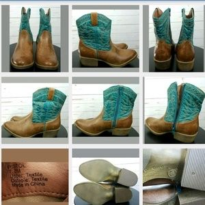 Coconuts By Matisse Pistol Cowboy Boots 7.5